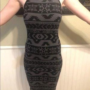 Express XS bodycon Dress